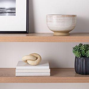 Threshold Accents - Studio McGee ceramic textured decorative bowl